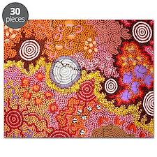 AUSTRALIAN ABORIGINAL ART Puzzle