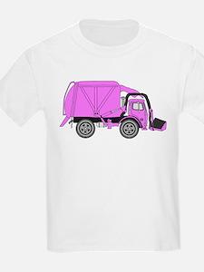 GarbageTruckPink T-Shirt