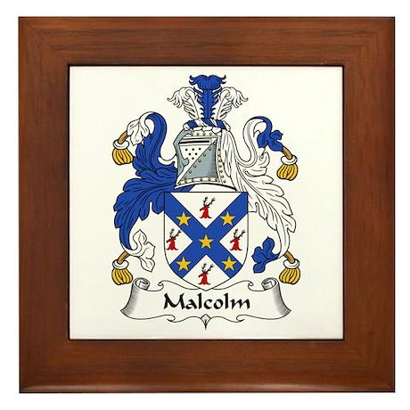 Malcolm Framed Tile