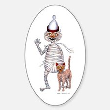 Mr Mummfiic And Cat Decal