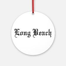Long Beach, California Ornament (Round)