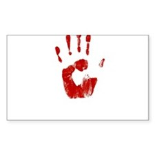 Red Handed Decal