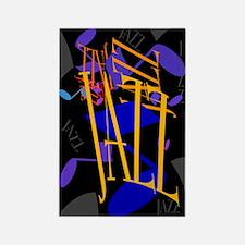 Jazz Jazz Jazz Rectangle Magnet