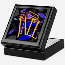 Jazz Jazz Jazz Keepsake Box