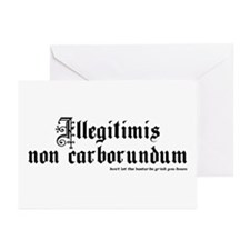 Don't Let The Bastards Greeting Cards (Package of