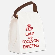 Funny Agatha christie Canvas Lunch Bag