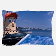 Halifax. Waterfront area. Waterfront m Pillow Case