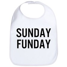 Cute Sunday funday Bib
