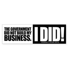 I Did! Bumper Sticker