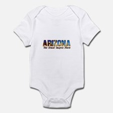Arizona . . . The Grand Canyo Infant Bodysuit
