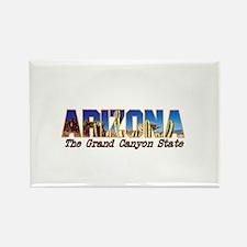 Arizona . . . The Grand Canyo Rectangle Magnet