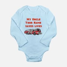 My Uncle Saves Live Fire Truck (Custom) Body Suit