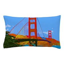 Cute Golden gate bridge Pillow Case