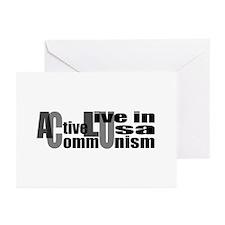 Anti-ACLU Greeting Cards (Pk of 10)