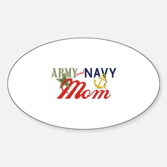 Army Navy Mom Decal