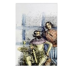 Knight and the Squire Fro Postcards (Package of 8)