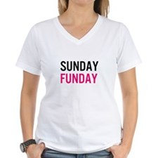 Sunday Funday (black / pink) T-Shirt