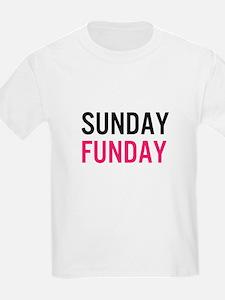 Sunday Funday (black / pink) T-Shirt