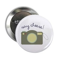 """Say Cheese! 2.25"""" Button (100 pack)"""