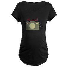 ah Snap! Maternity T-Shirt