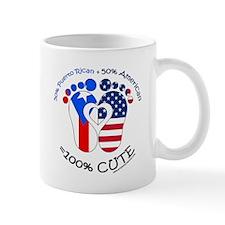 Puerto Rican American Baby Mug