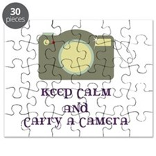 Keep calm and carry a camera Puzzle