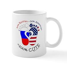 Russian American Baby Mug
