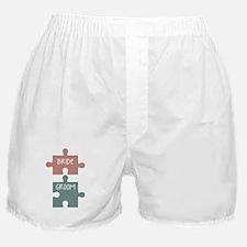 Bride Groom Boxer Shorts