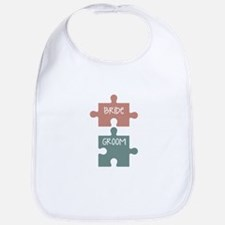 Bride Groom Bib