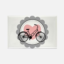 Bicycle Heart Magnets