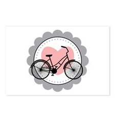 Bicycle Heart Postcards (Package of 8)