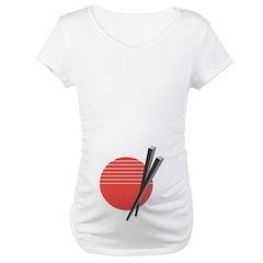 Oriental Chopsticks Design Shirt