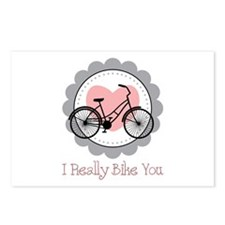 I Really Bike You Postcards (Package of 8)