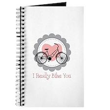 I Really Bike You Journal