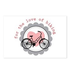 for the love of biking Postcards (Package of 8)