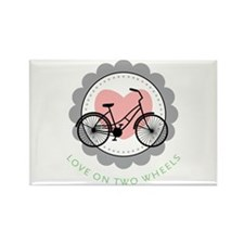 Love on Two Wheels Magnets