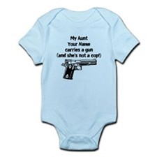 My Aunt Carries A Gun Not A Cop (Custom) Body Suit