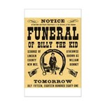 Billy's Funeral Mini Poster Print