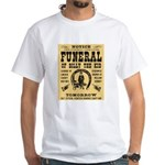 Billy's Funeral White T-Shirt