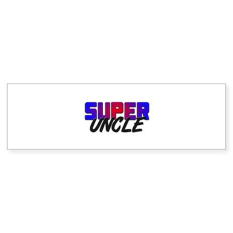 SUPER UNCLE Bumper Sticker