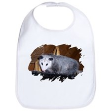 Possum on a Shelf Bib