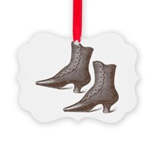 Vintage Victorian Boots Ornament