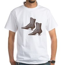 Vintage Victorian Boots Shirt
