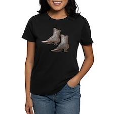Vintage Victorian Boots Tee