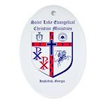St. Luke's Oval Ornament
