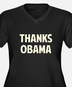 Thanks Barack Obama Plus Size T-Shirt