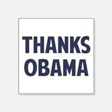 Thanks Barack Obama Sticker