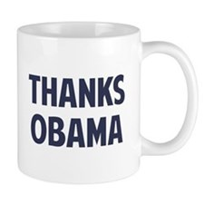 Thanks Barack Obama Mugs