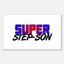 SUPER STEP-SON Rectangle Decal