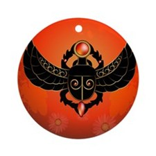 Scarab Ornament (Round)